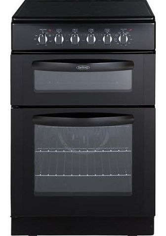 FSEC50FDOB Electric Cooker Free Standing Black