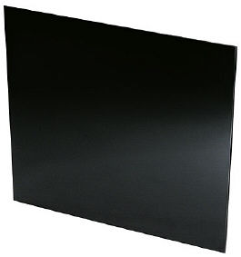 SPL90 90cm Splashback in Black