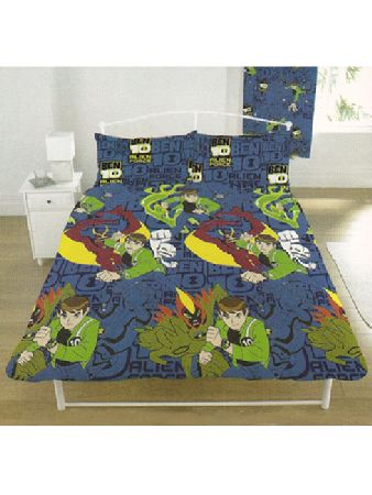 Alien Force Rotary Double Duvet Cover and