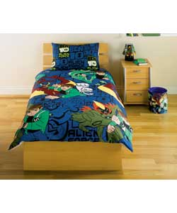 Alien Force Rotary Single Bed Duvet Set