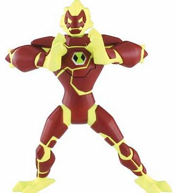 Ben 10 Galactic Monsters 15cm Heatblast