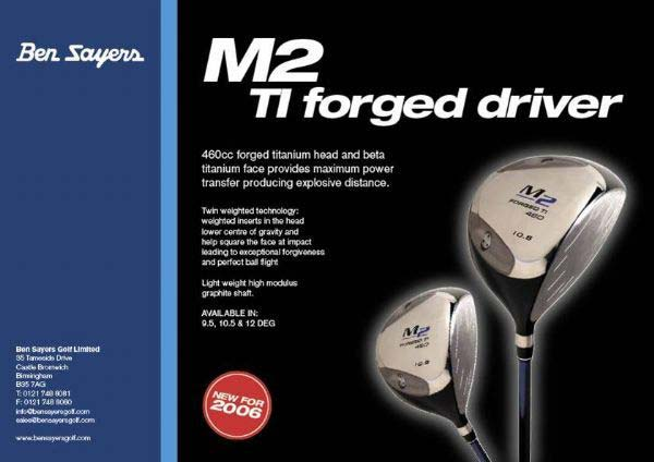 M2 Forged Ti 460cc Golf Driver