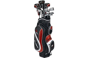 M7 Package Set 2008 Steel/Graphite + Cart Bag