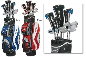 M7 Package Set 2009 Steel/Graphite Cart Bag
