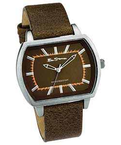 Boys Strap Rectangular Dial Watch