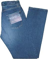 Faded Denim Jeans