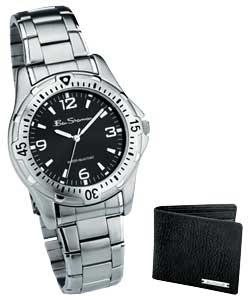 Gents Bracelet Watch and Wallet Set