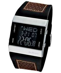 Gents LCD Watch