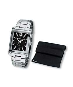 Gents Quartz Analogue Watch and Scarf Set