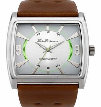 Mens Brown Strap Watch