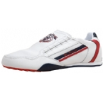 Mens Key West Trainer White/Navy/Red
