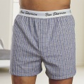 pack of two check boxer shorts