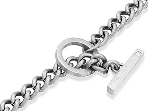 Stone-Set T-Bar Chain 019509