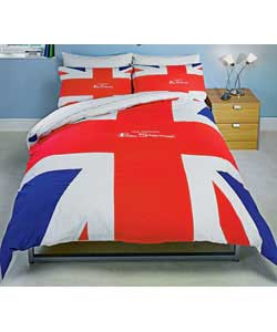 Union Jack Flag Double Duvet Set
