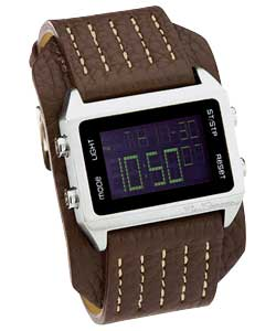 Youth LCD Cuff Watch