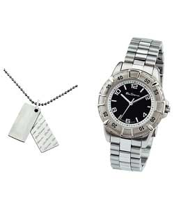 Youth Watch and Dog Tag Set