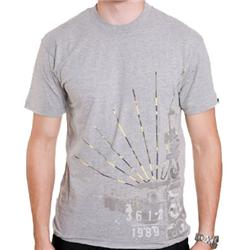 Concrete Papers Tee - Grey Marl