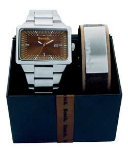 Gents Watch and Bracelet Gift Set