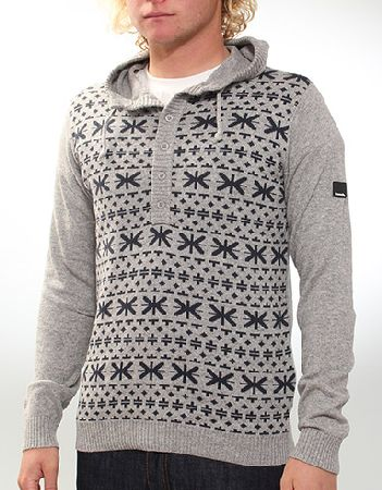Get In Hooded knit - Grey