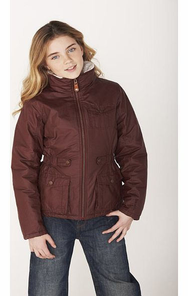 Girls Waxed Jacket