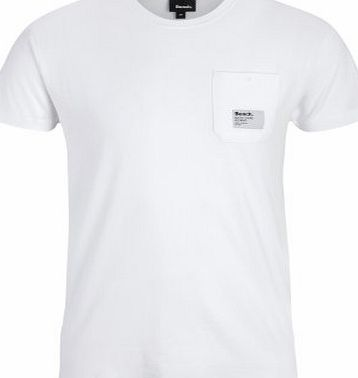 Bench Juror B Mens T-Shirt White Large