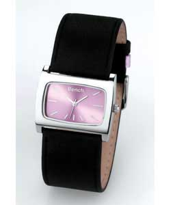 Ladies Lilac Dial Watch