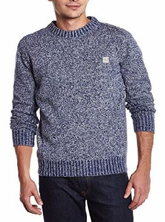 Mens Origidan Long Sleeve Jumper, Estate Blue, Small