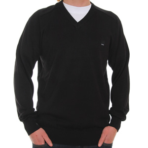 Off V neck jumper - Black