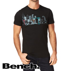 T-Shirts - Bench Check City T-Shirt - Black