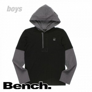 T-Shirts - Bench Gear Hooded Long Sleeve