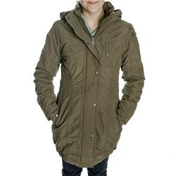 Womens Disko Padded Coat - Canteen