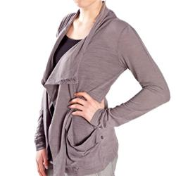 Womens Linseed Knit Cardi - Excalibre