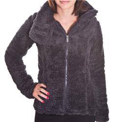 Womens Wolfhound Fleece - Charcoal