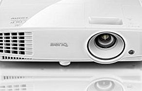 BenQ MS517H SVGA Business Projector, 3300 Lumens High Brightness, 13000:1 High Contrast Ratio, SmartEco Technology, and Blu-ray Full HD 3D Support for Small-Medium Space