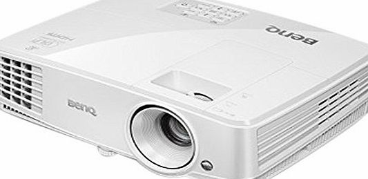 BenQ MW529 Business Projector, 3300 Lumens High Brightness, 13000:1 High Contrast Ratio, WXGA, 10,000 hr Lamp Life and SmartEco Technology