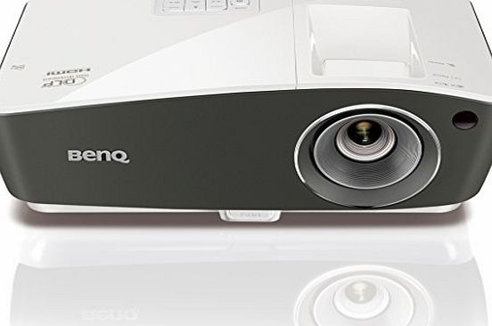 BenQ TH670 Full HD 1080p Home Entertainment Projector (3000 Lumens High Brightness, Built-in 10 W Speaker, Auto Vertical Keystone Correction, HDMI, AV, VGA, USB and 1.5 A Power Supply) - Black/White