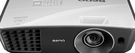 BenQ W750 2500 Lumens 720p Resolution 3D Home Entertainment Projector - White/Grey