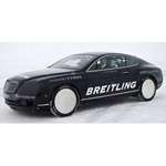 Bentley Continental GT - World Ice Speed Record