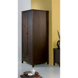 Designs - Atlantis Dark 2 Door Wardrobe