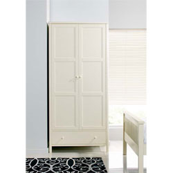 Designs - Atlantis Ivory 2 Door Wardrobe