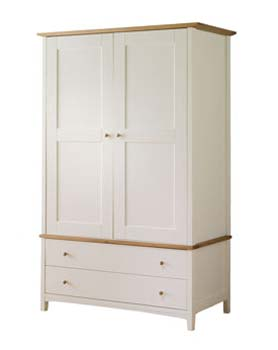 Alaska Large 2 Door Wardrobe