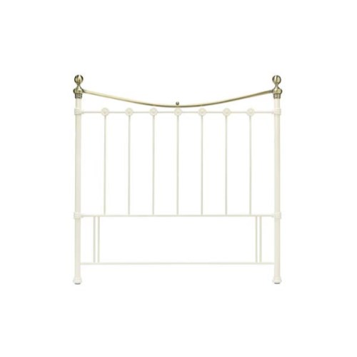 Amelie Headboard in White - double
