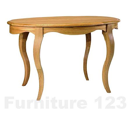 Amore Solid Oak Oval Dining Table - WHILE STOCKS