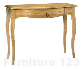 Amore Solid Oak Storage Console Table