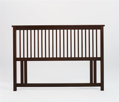 Atlantis Dark Wood Kingsize (5) Headboard