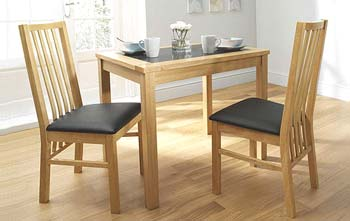 Atlantis Natural 2 Seater Dining Set