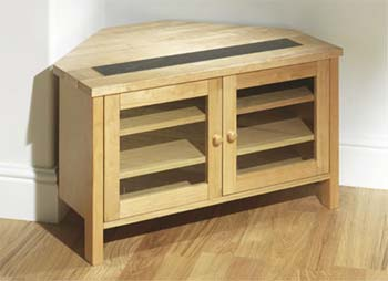 Atlantis Natural Corner TV Unit