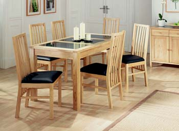 Atlantis Natural Dining Set