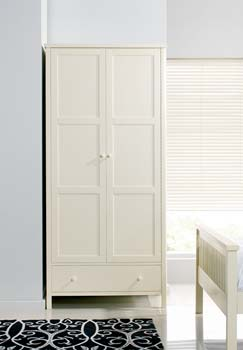 Atlantis Pearl Oak Two Door Wardrobe