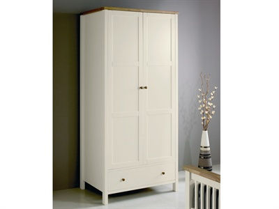 Atlantis Two Tone Double Wardrobe Small Single